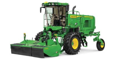 John Deere introduces new W200 Series M and R Windrowers that boost harvest speed and efficiency