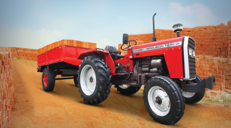 TAFE Launches Massey Ferguson 7235 - Commercial & Haulage Special Tractor for Bihar, Jharkhand and Haryana