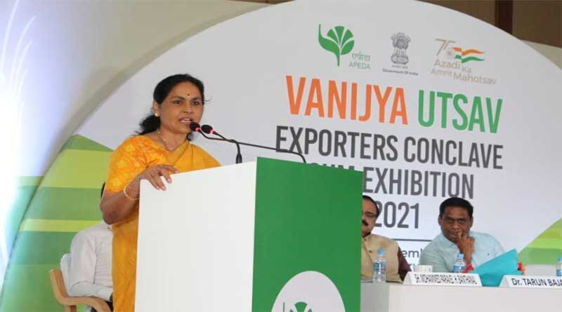 Agricultural exports should be prioritized to increase the farmers income: Ms. Shobha Karandlaje