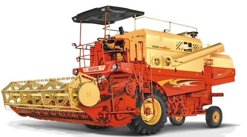Swaraj introduces Gen2 8100 EX Self-Propelled Combine Harvester